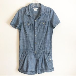 Urban Outfitters Silence & Noise Denim Romper